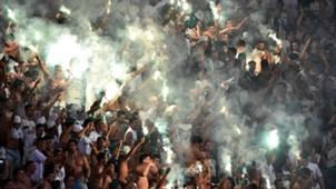 Torcida Palmeiras River Plate Montevideo Copa Libertadores 14042016