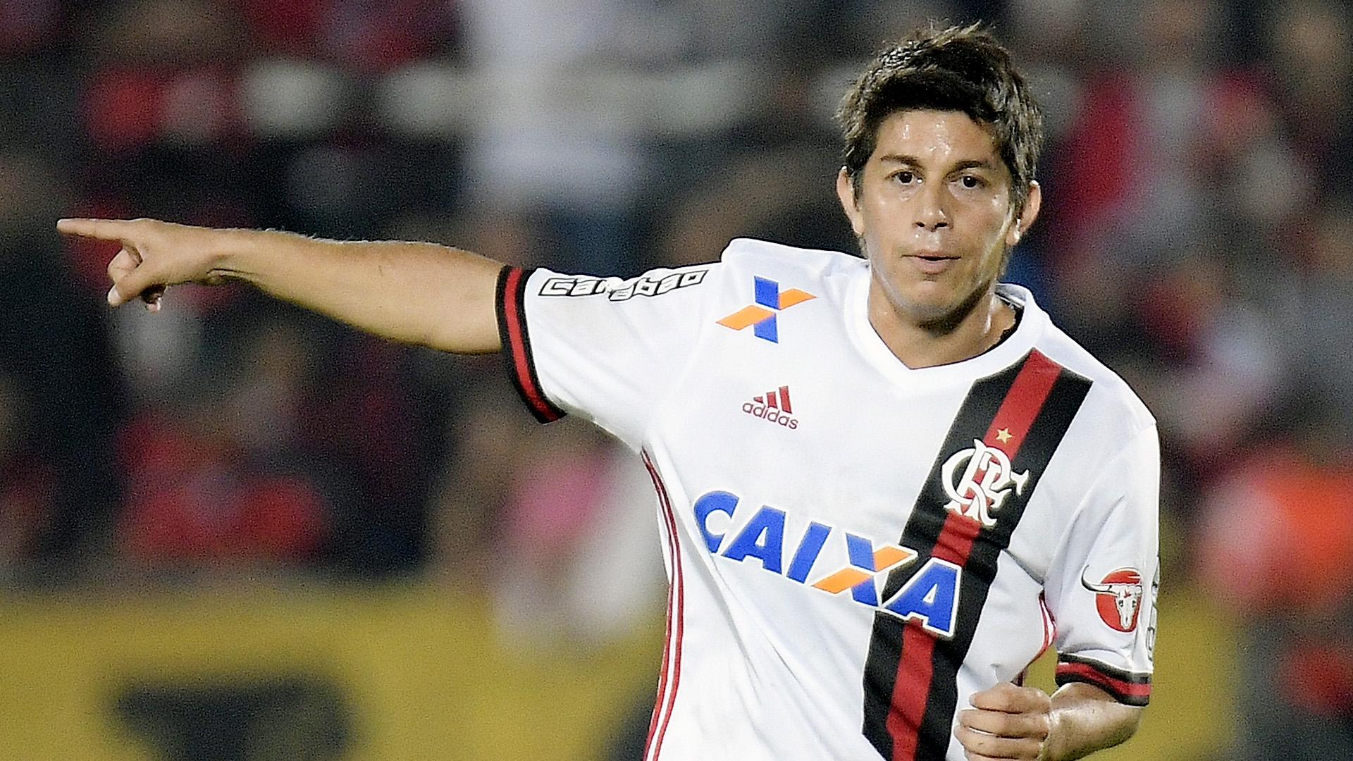 Dario Conca Flamengo Ponte Preta Brasileirao Serie A 14062017