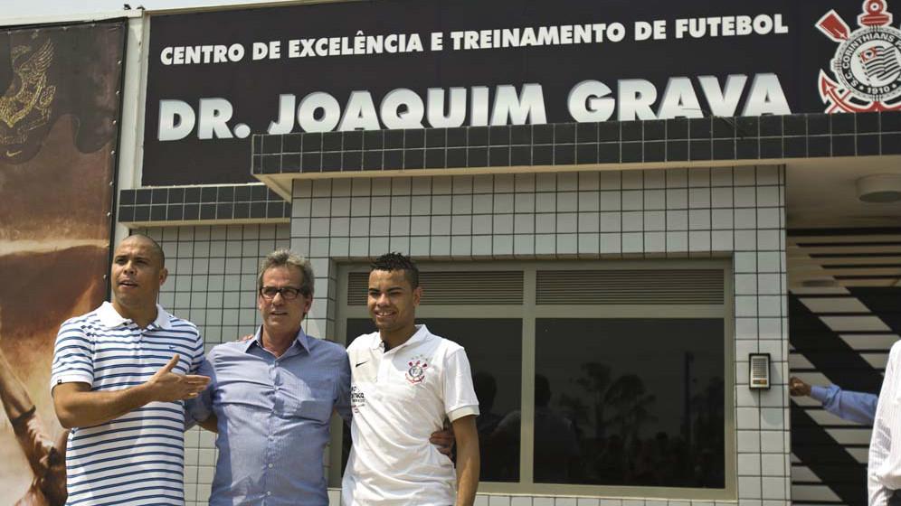 Ronaldo, Dentinho e Joaquim Grava - Corinthians