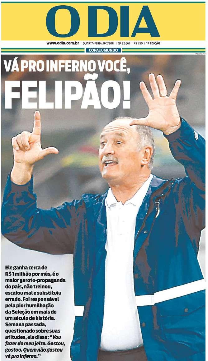Capas 7 a 1 O Dia Rio de Janeiro RJ
