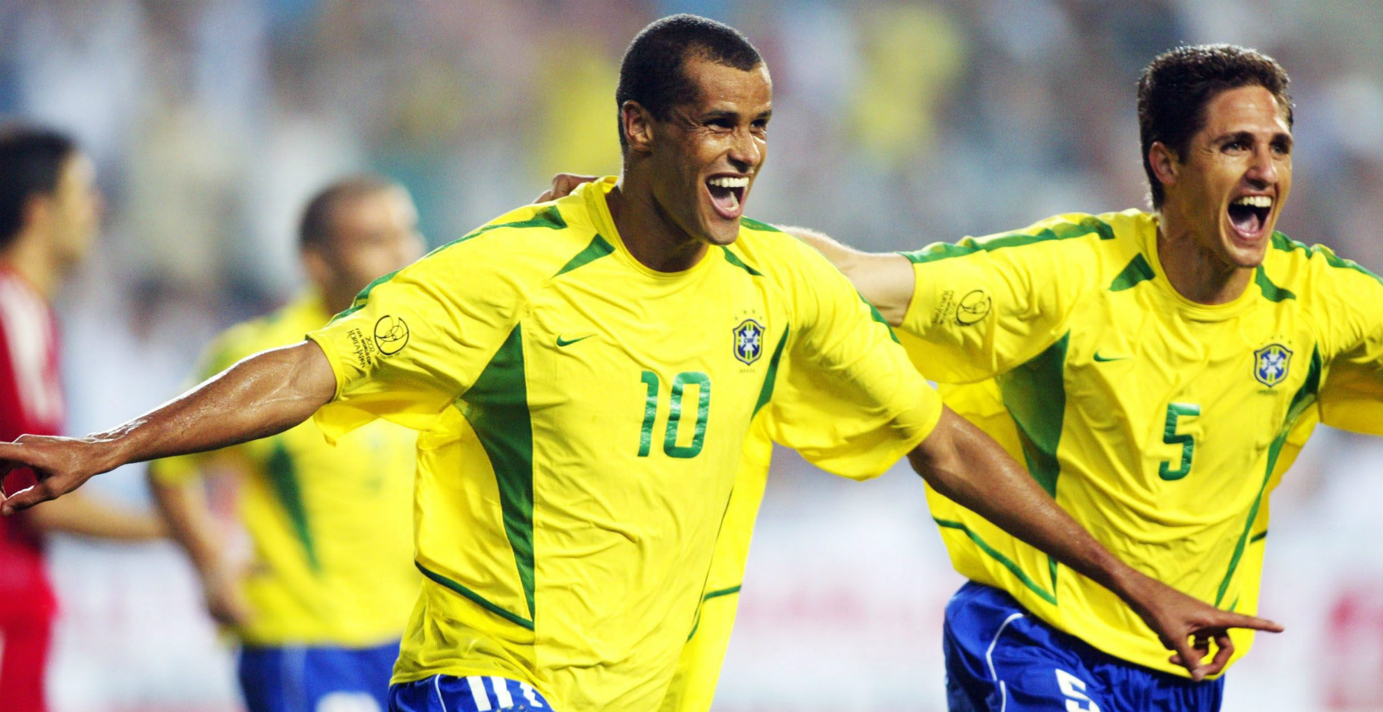 Rivaldo - Brazil 2 x 1 Turkey - World Cup 2002
