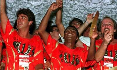 Romário Carnaval 1995 Rio de Janeiro