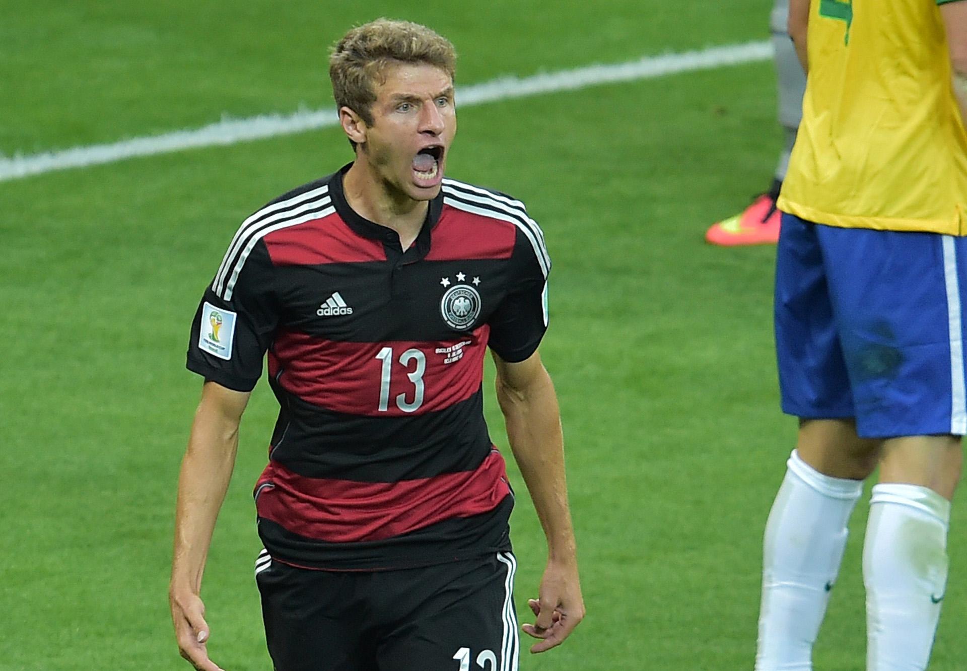 Thomas Muller Brazil Germany 2014 World Cup quarter-final 07082014
