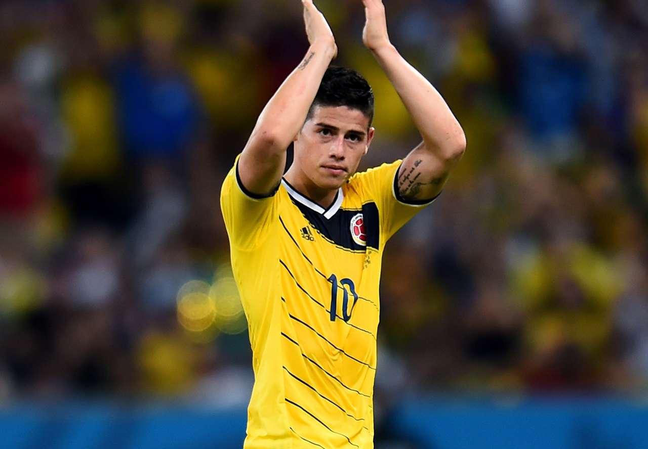 James Rodríguez Colombia Uruguay 2014 World Cup Last 16 06282014