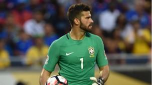 Alisson Seleção Brasileira Haiti 09062016