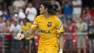 Cássio - Corinthians x São Paulo - 8/03/2015