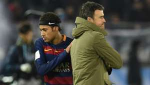 Luis Enrique Neymar Barcelona 2016