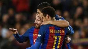 Luis Suarez Lionel Messi Neymar Barcelona Celta La Liga 04032017