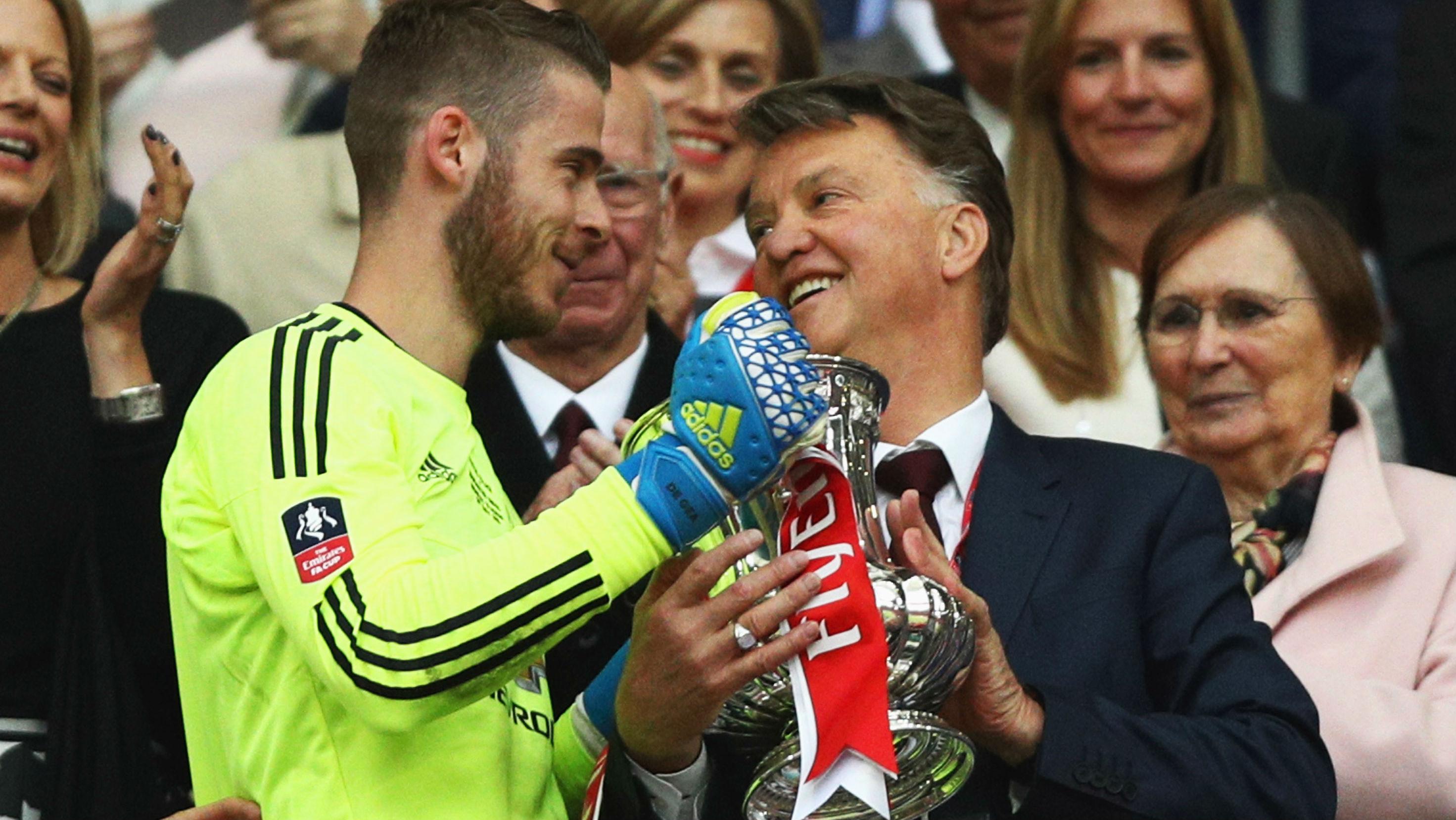 De Gea van Gaal Manchester United FA Cup 21052016