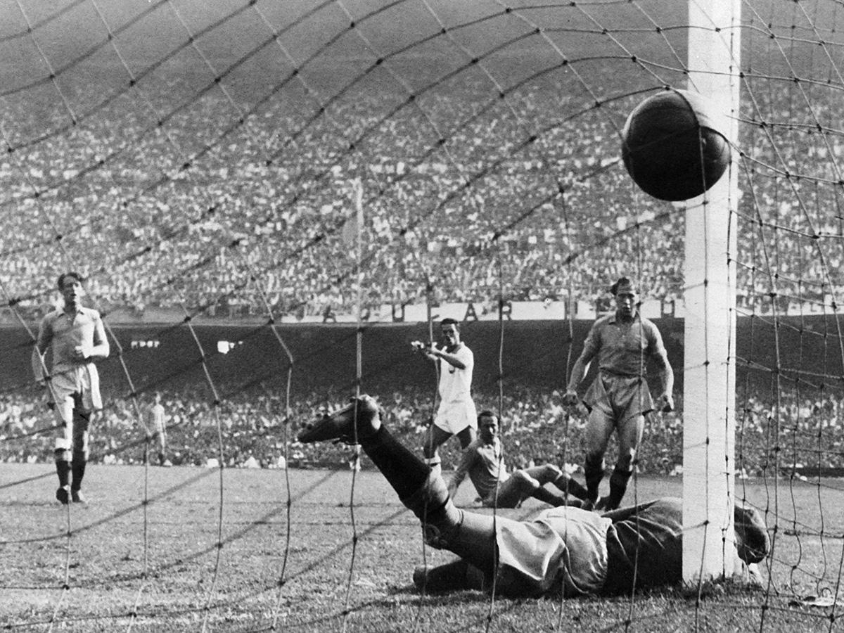Ademir Brazil Sweden 1950 World Cup