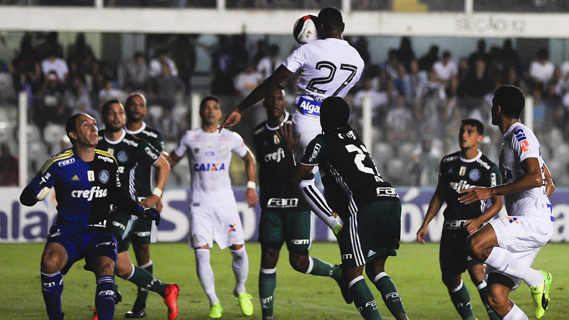 Fernando Prass Palmeiras Santos 20 03 2017