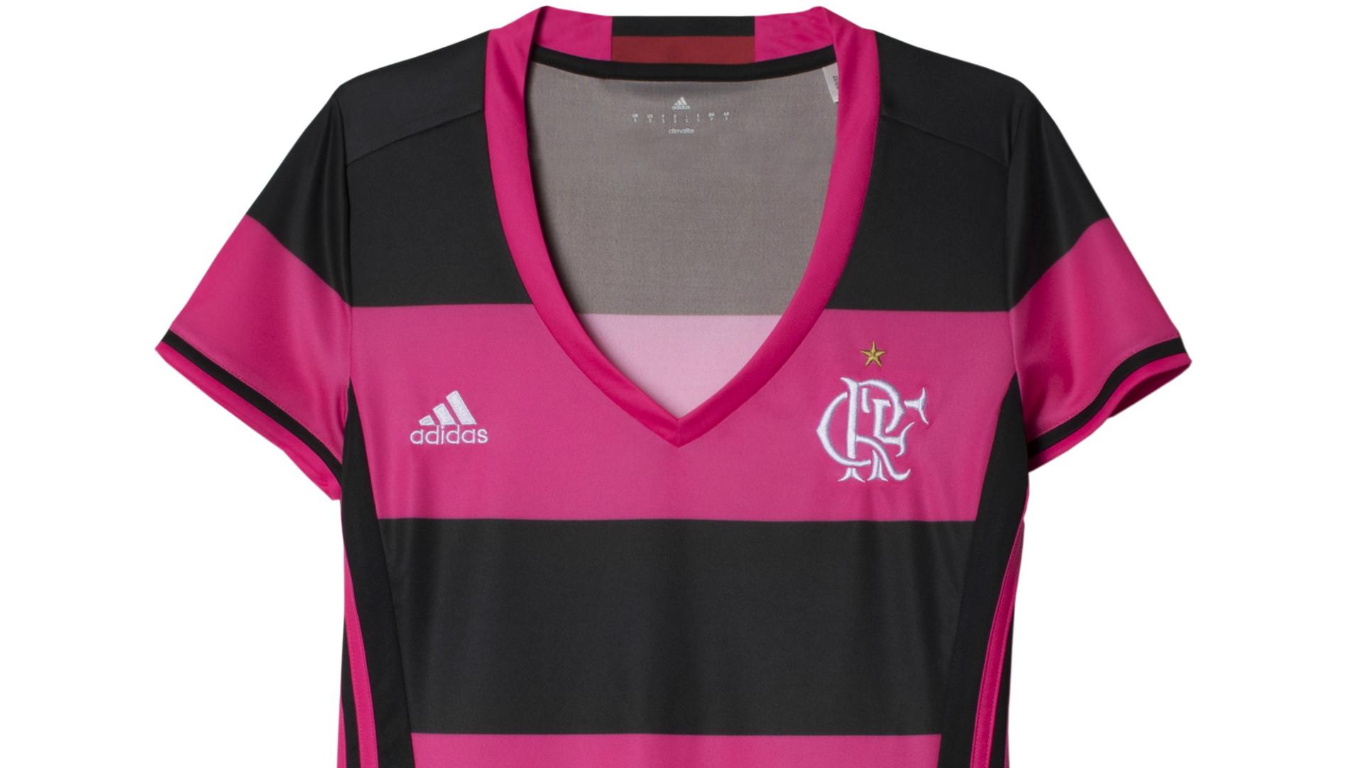 1e32b59796 Flamengo lança nova camisa feminina em homenagem ao Dia ...