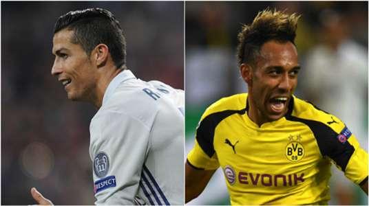 ARTICLE Ronaldo Aubameyang Real Madrid Dortmund 2016