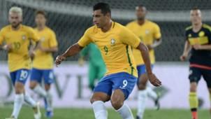 Diego Souza Brasil vs Colombia amistoso 25 01 2017