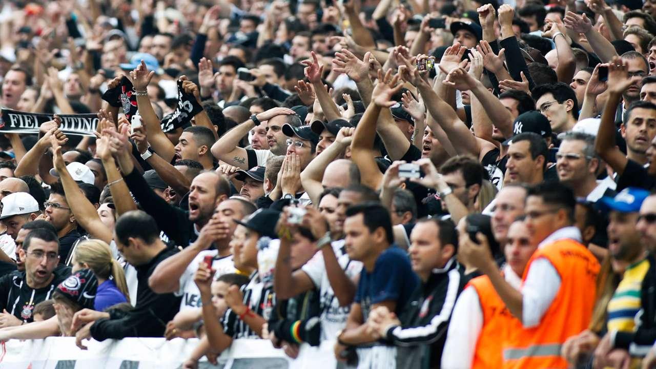 Torcida Corinthians 3x2 São Paulo 21 09 2014
