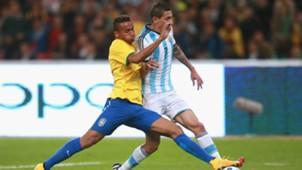 Danilo, Ángel Di María | Brasil x Argentina | 11/10/2014