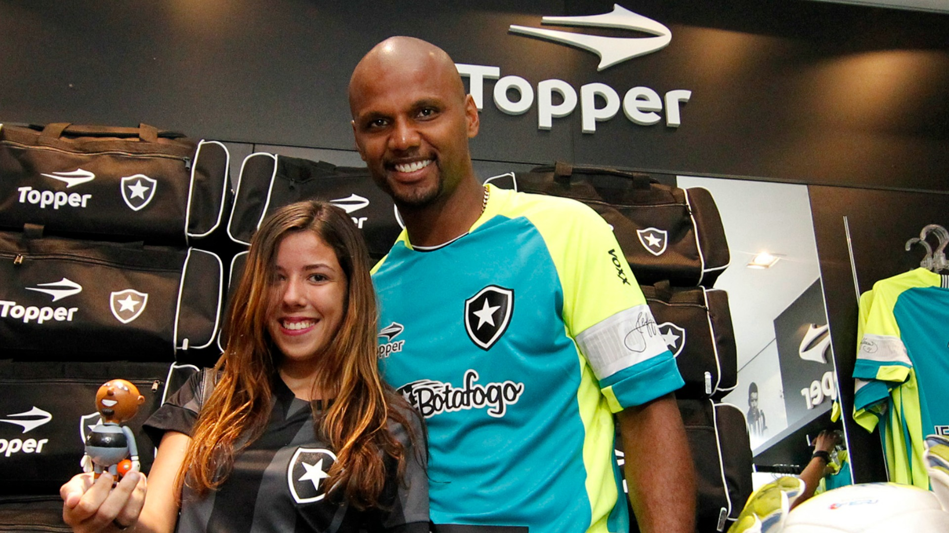7eb27912f8 Botafogo lança camisa especial para Jefferson