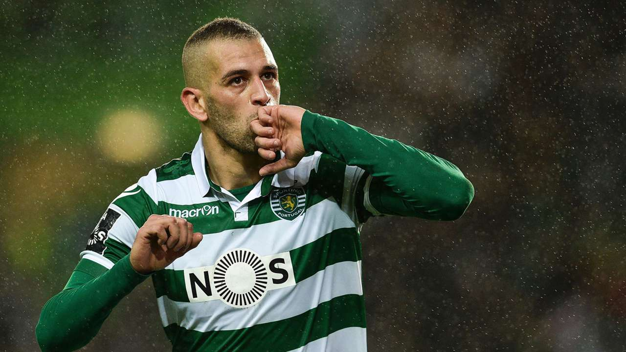 Islam Slimani Sporting Lisboa Braga Liga NOS 10012016