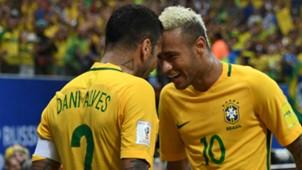 Daniel Alves Neymar Brasil Seleção 26 10 2016