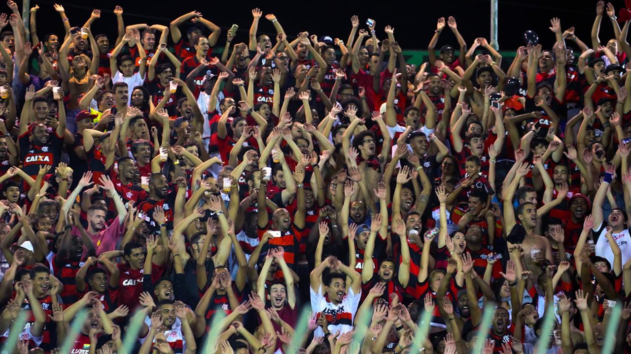 Torcida Flamengo Macaé Carioca 01022017