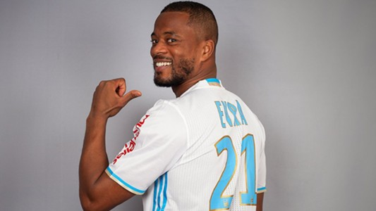 Patrice Evra signing Olympique Marseille 2017