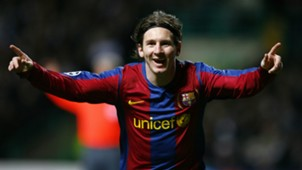 Lionel Messi Celtic Barcelona Uefa Champions League 2008