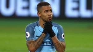 Gabriel Jesus West Ham Manchester City Premier League 01022017