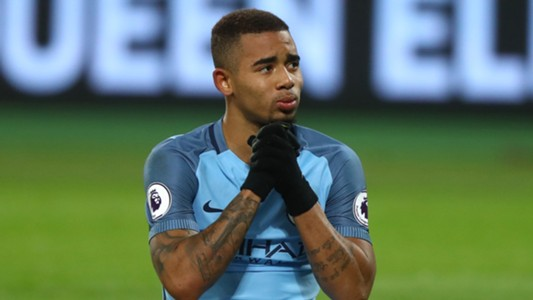 Gabriel Jesus West Ham Manchester City Premier League 01022017