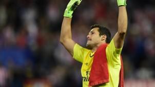 Julio Cesar Atletico Madrid Benfica Champions League 30092015