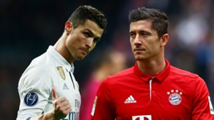 GFX Cristiano Ronaldo Robert Lewandowski Real Madrid Bayern