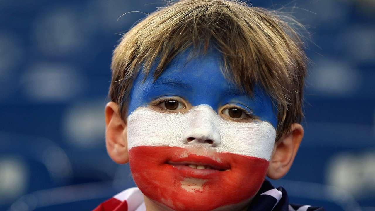 Young Fan USA Brazil Friendly 08092015