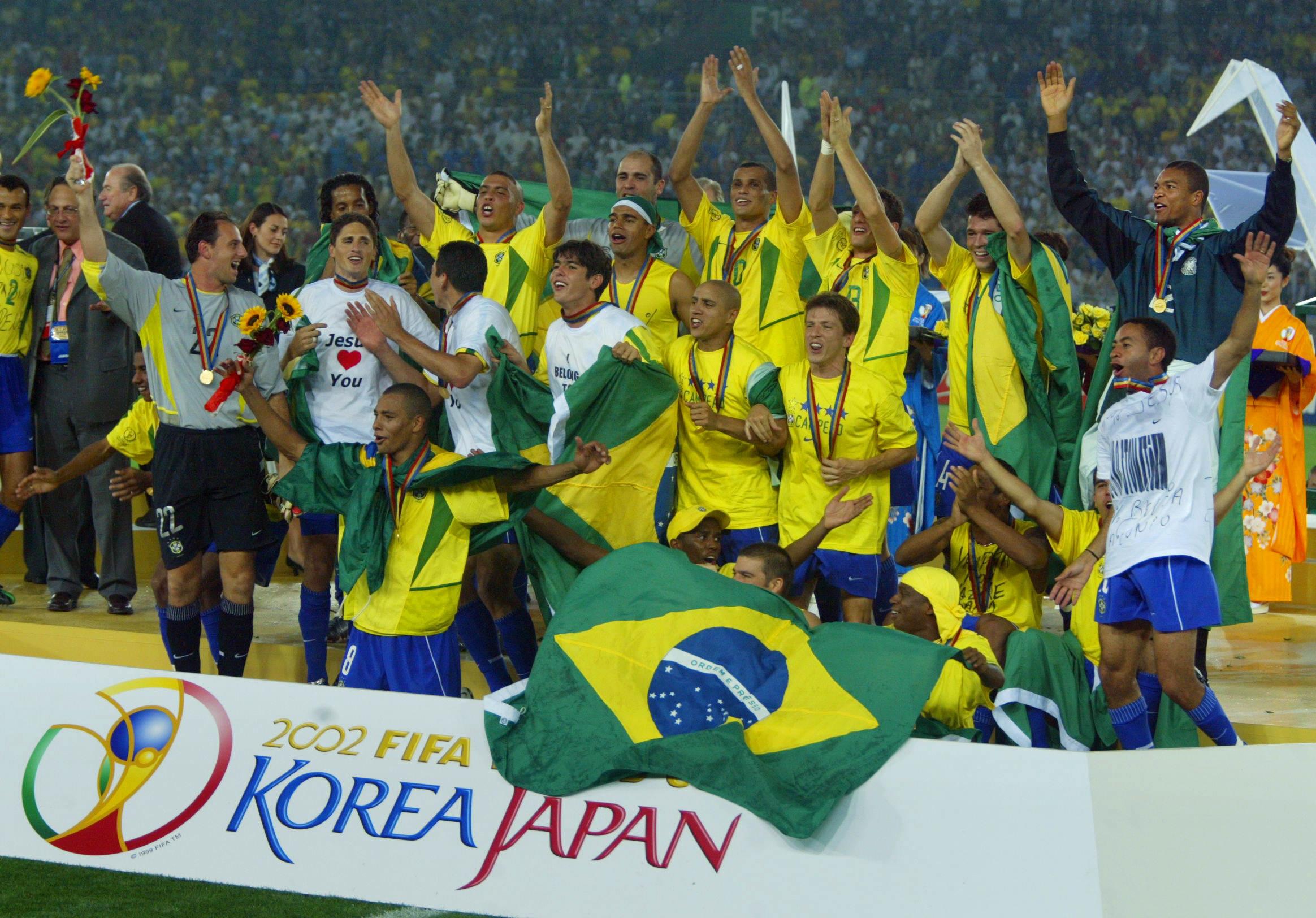 Brasil penta 2002