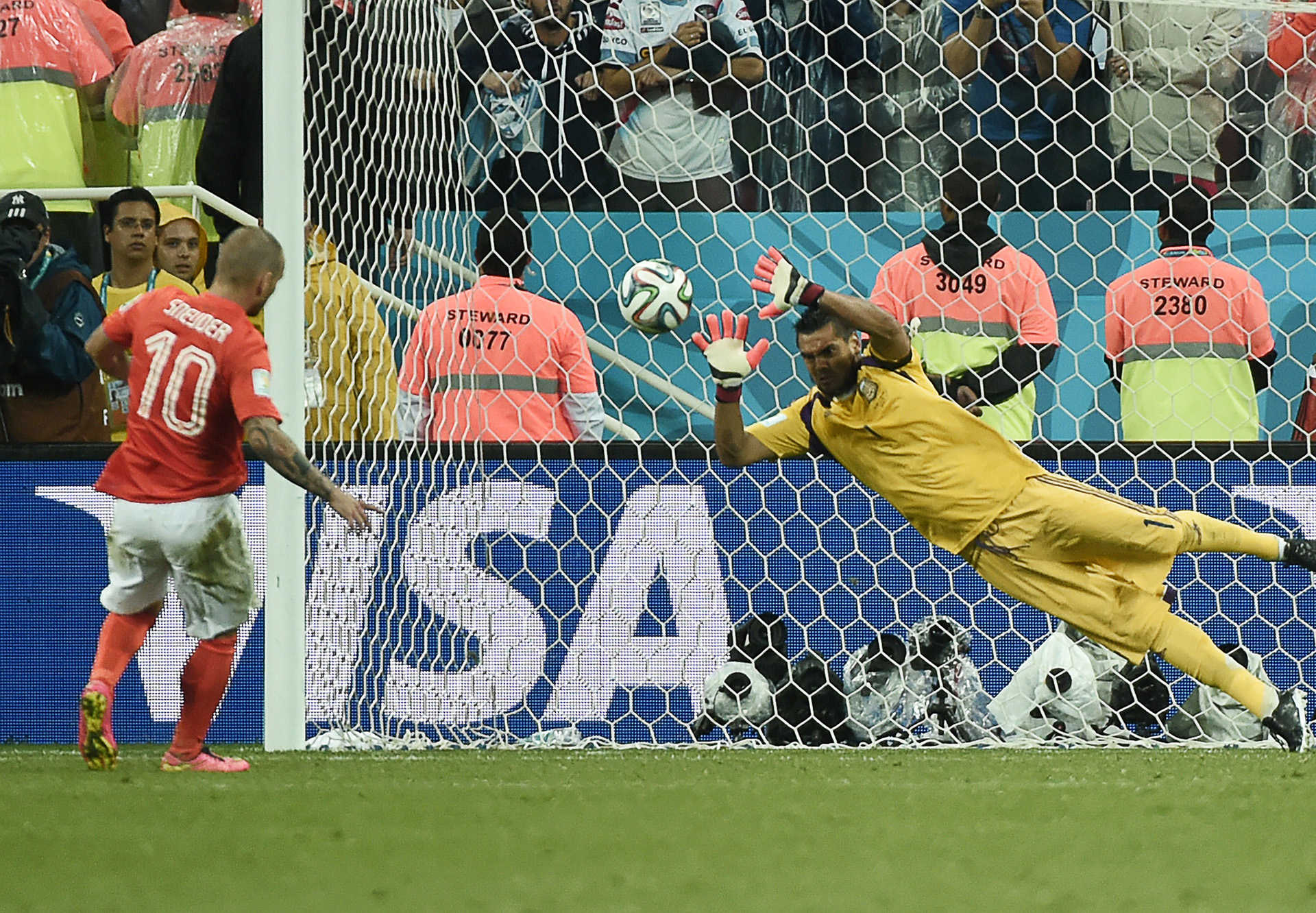 Sergio Romero Netherlands Argentina 2014 World Cup semi-final 07092014