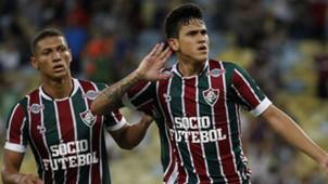 Pedro Richarlison Fluminense Goias Copa do Brasil 19042017
