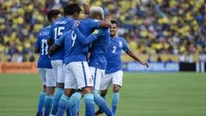 Brasil comemora - Equador x Brasil 0109