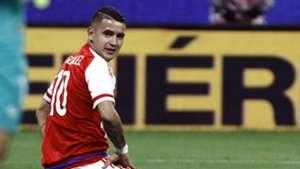 Derlis Gonzalez Brasil Paraguai Eliminatorias 2018 28032017