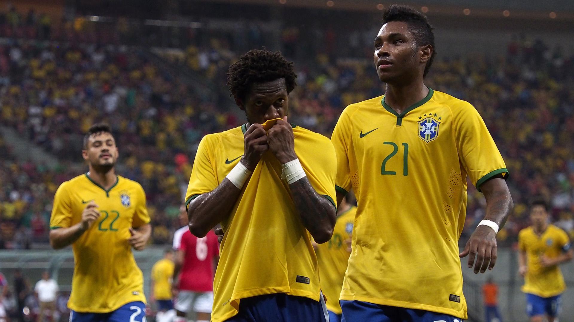 Fred Vitinho Brazil U23 Dominican Republic Friendly 09102015