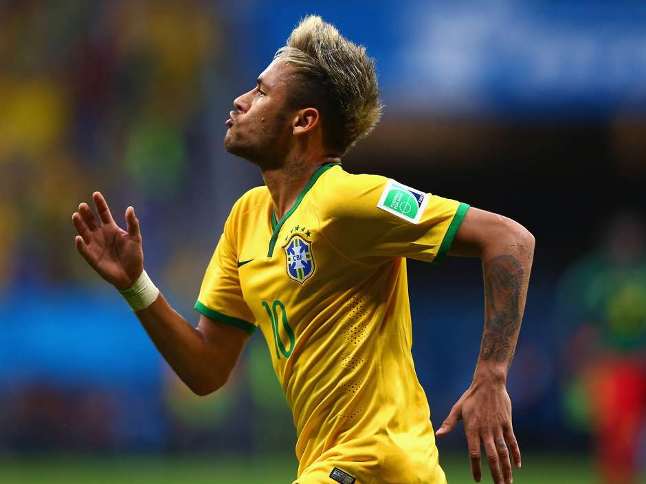 Neymar Brazil 4x1 Cameroon World Cup 2014 06 23 2014