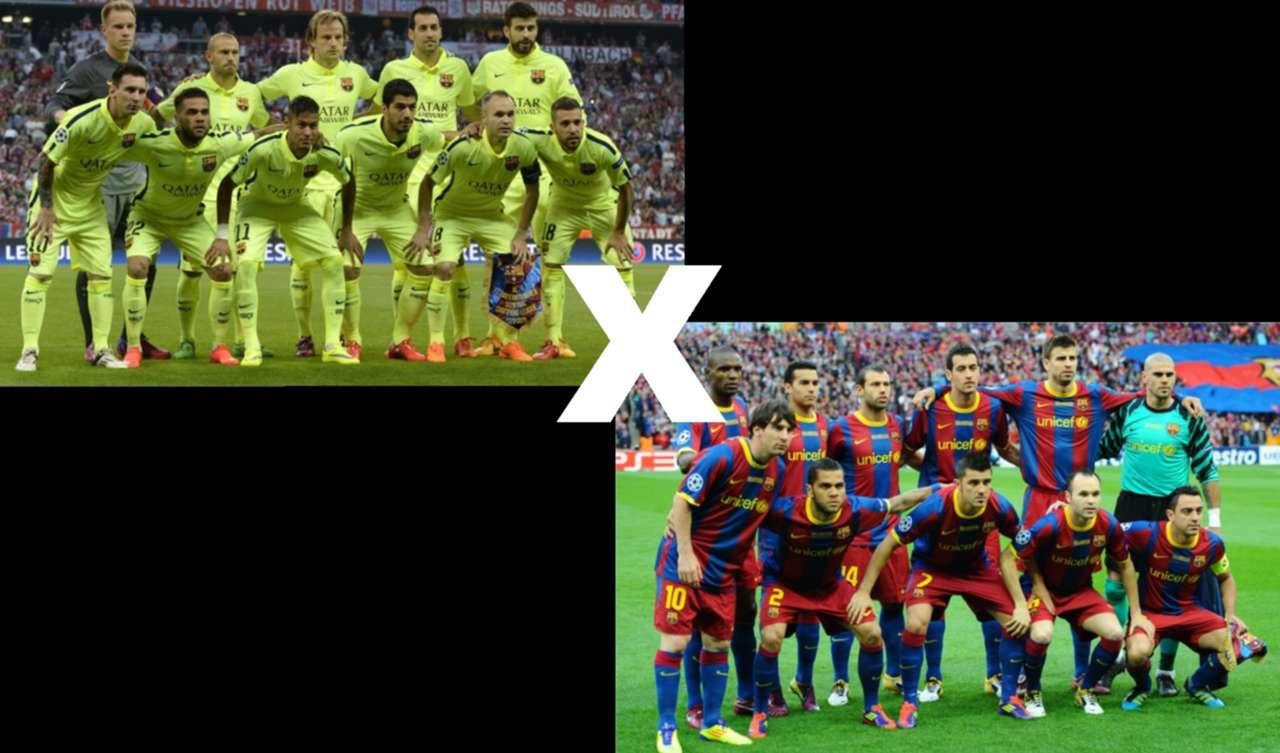 Arte Barcelona 2015 x Barcelona 2011