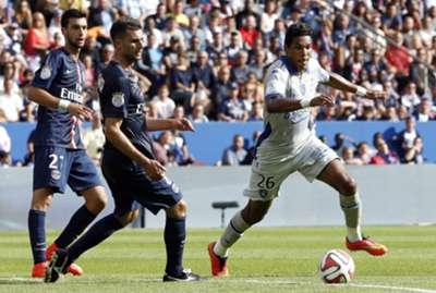 Thiago Motta and Brandão - PSG 2 x 0 Bastia