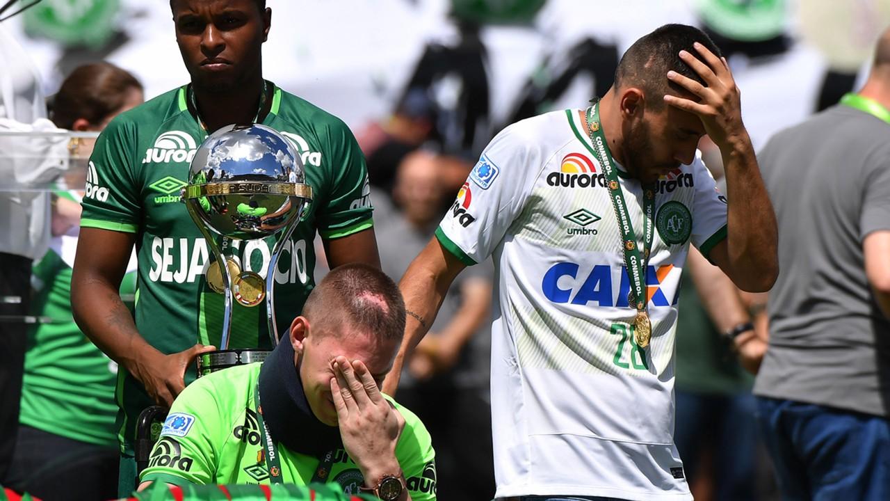 Alan Ruschel Follmann Palmeiras Chapecoense Amistoso homenagem 21012017