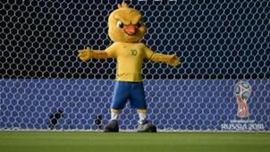 Canarinho - mascote Brasil x Bolívia 061016