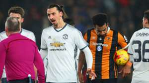 Hull City Manchester United Ibrahimovic Tom Huddlestone League Cup 26012017