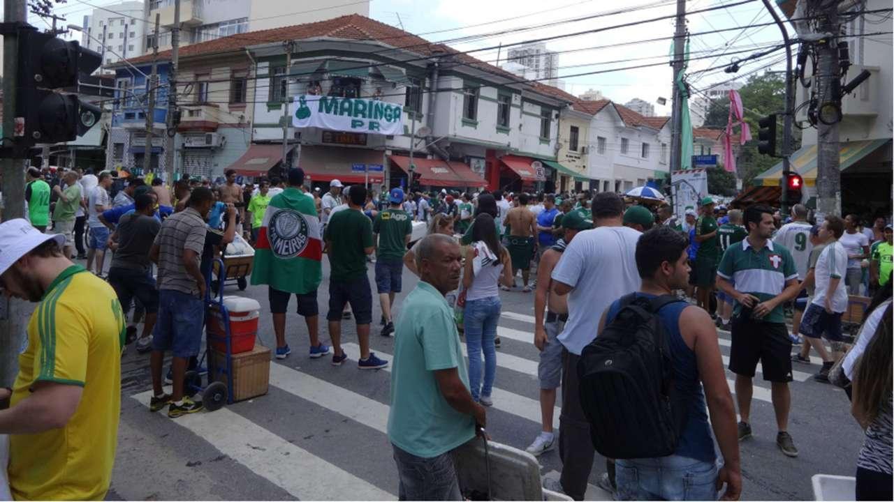 Palmeiras fans