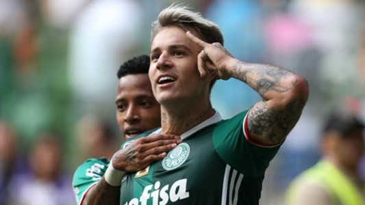 Róger Guedes - Palmeiras x Audax - 25/03/2017