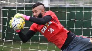 Alex Muralha Flamengo treino 03092016