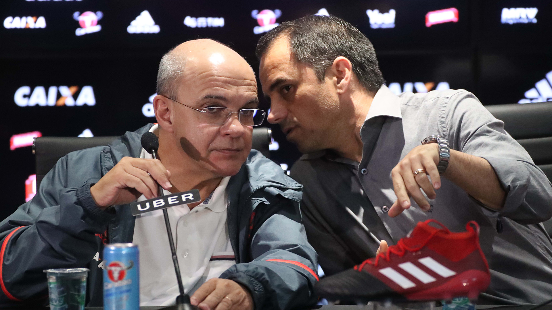 Ricardo Lomba é apresentado como novo vice de futebol do Flamengo
