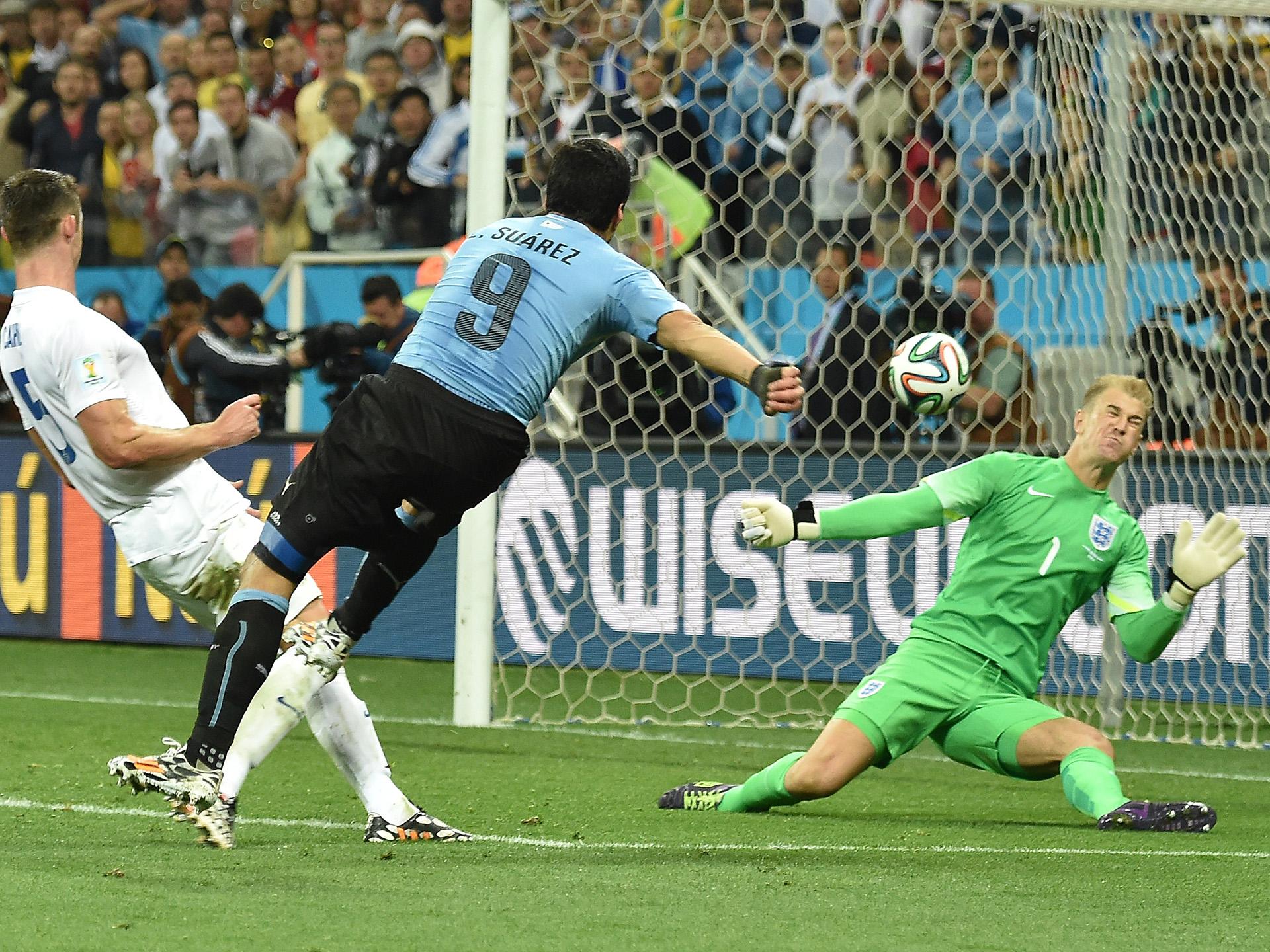Luis Suárez Uruguay England 2014 World Cup Group D 06192014