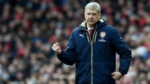 Arsene Wenger   Arsenal x Leicester City   Premier League 2015/2016   14/02/2016