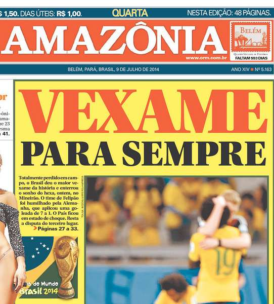 Capas 7 a 1 Amazônia Manaus AM
